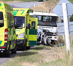 Tauranga-One dead after car v truck, Welcome Bay Road