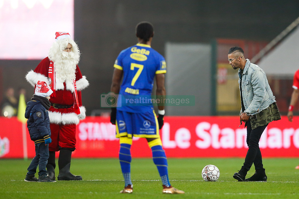 December 23, 2017 - Liege, BELGIUM - Standard's former player Mehdi Carcela pictured at the start of the Jupiler Pro League match between Standard de Liege and STVV Sint-Truiden, in Liege, Saturday 23 December 2017, on day 20 of the Jupiler Pro League, the Belgian soccer championship season 2017-2018. BELGA PHOTO BRUNO FAHY (Credit Image: © Bruno Fahy/Belga via ZUMA Press)
