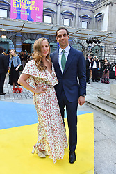 Charlotte Dellal and her husband Maxim Crewe at the Royal Academy Of Arts Summer Exhibition Preview Party 2018 held at The Royal Academy, Burlington House, Piccadilly, London, England. 06 June 2018.