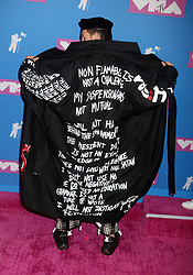 August 20, 2018 - New York City, New York, U.S. - NICO TORTORELLA attends the arrivals for the 2018 MTV 'VMAS' held at Radio City Music Hall. (Credit Image: © Nancy Kaszerman via ZUMA Wire)