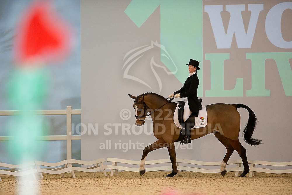 Emily Baldwin (GBR) & Drive Time - Dressage - Express Eventing - Horse World Live - ExCel London - 17 November 2012