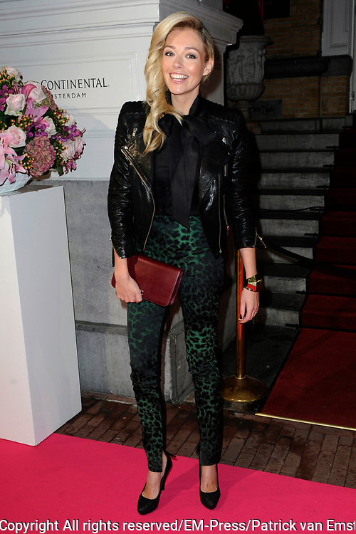 Uitreiking Beau Monde Awards 2013 in het Amstel Hotel, Amsterdam.<br /> <br /> Op de foto:  Renate Verbaan