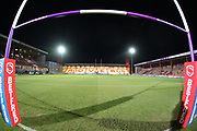 A general view inside the stadium prior to the Betfred Super League match between Hull Kingston Rovers and Huddersfield Giants at the Hull College Craven Park  Stadium, Hull, United Kingdom on 21 February 2020.