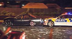 Auckland-Five car crash on North-Western motorway