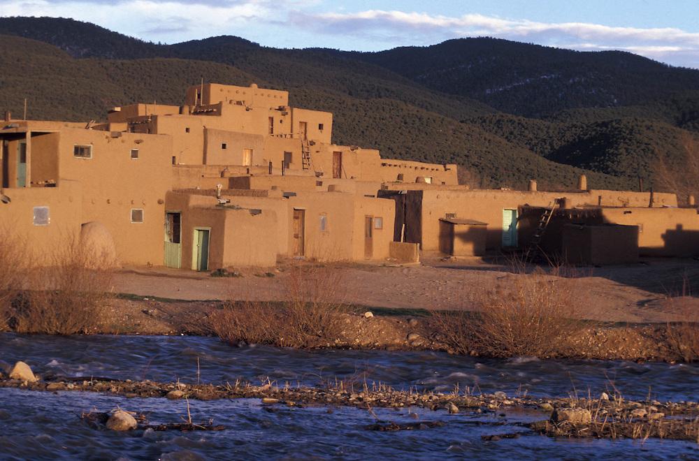 Taos Pueblo, New Mexico, USA