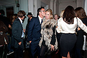 BAILLIE WALSH; KATE MOSS, KM3D-1 Film screening made by Baillie Walsh of Kate Moss. Hosted by another magazine. Hanuch of Venison. London. 16 Septemebr 2010.  -DO NOT ARCHIVE-© Copyright Photograph by Dafydd Jones. 248 Clapham Rd. London SW9 0PZ. Tel 0207 820 0771. www.dafjones.com.