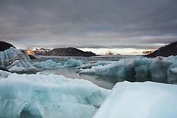 Kongsfjorden in Spitsbergen, Svalbard