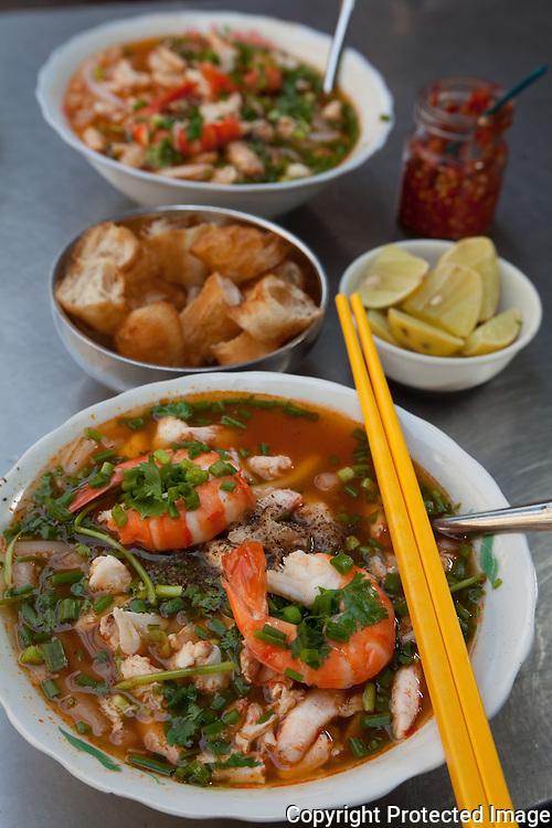 Banh Canh Cua at Sang Banh, Ho Chi Minh City, Vietnam