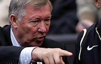 Photo: Paul Thomas.<br /> Manchester United v Newcastle United. The Barclays Premiership. 01/10/2006.<br /> <br /> Sir Alex Ferguson, Man Utd manager.