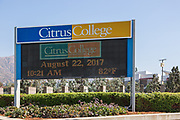 Citrus College Digital Marquee Signage