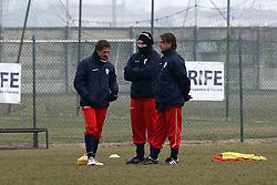 ALLENAMENTO SPAL 24-01-2012: BRESCIA E VECCHI DISCUTONO