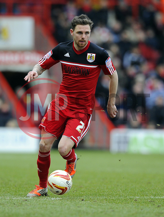 Bristol City's Paul Anderson - Photo mandatory by-line: Joe Meredith/JMP - Tel: Mobile: 07966 386802 23/02/2013 - SPORT - FOOTBALL - Ashton Gate - Bristol -  Bristol City V Barnsley - Npower Championship