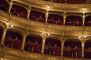 Hungarian State Opera House in Budapest, Hungary