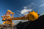 Kooragang Coal Loader, Newcastle Australia. Newcastle is Australia's largest coal exporter