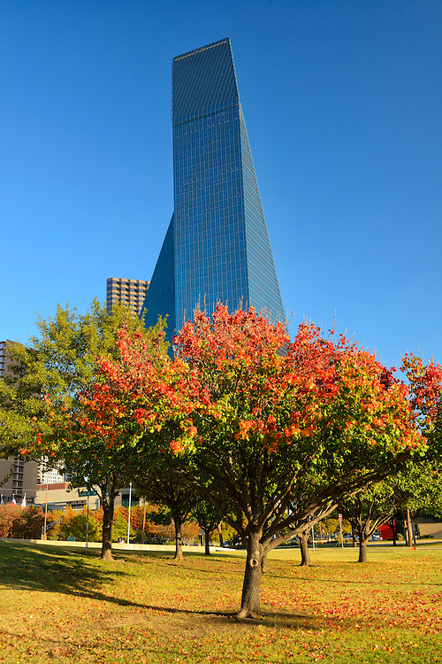 Fountain Place, tower,Downtown,Dallas, Texas,USA