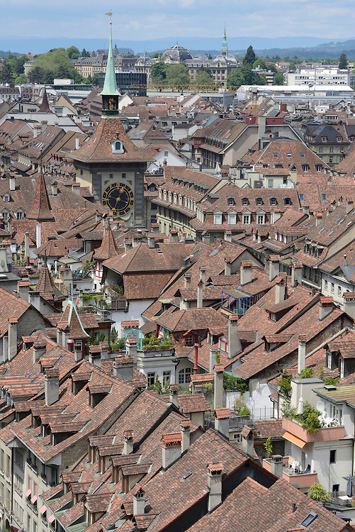Europe; Switzerland; Bern, center, old town view from Muenster