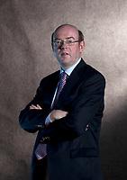 A portrait of Ian Garden at the Edinburgh International Book Festival 2012 in Charlotte Square Gardens<br /> <br /> Pic by Pako Mera