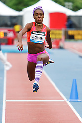 Samsung Diamond League adidas Grand Prix track & field; Womens Triple Jump, Dailenya Alcantara, CUB