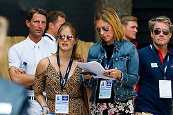 WAUTERS Caroline (BEL), MELCHIOR Judy-Ann (BEL)<br /> Rotterdam - Europameisterschaft Dressur, Springen und Para-Dressur 2019<br /> Impressionen am Rande<br /> Longines FEI Jumping European Championship part 2 - team 2nd and final round<br /> Finale Teamwertung 2. Runde<br /> 23. August 2019<br /> © www.sportfotos-lafrentz.de/Sharon Vandeput