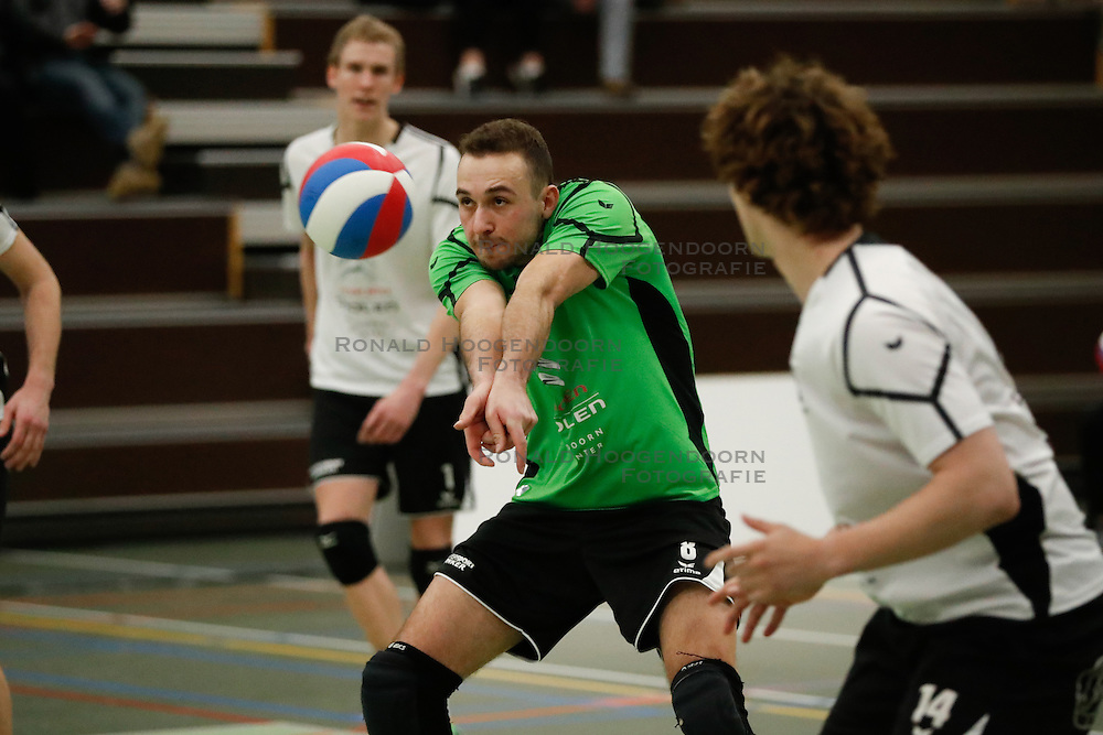 20170225 NED: Eredivisie, Valei Volleybal Prins - Coolen - Alterno: Ede<br />Dewi Verseput of Coolen Alterno<br />©2017-FotoHoogendoorn.nl / Pim Waslander