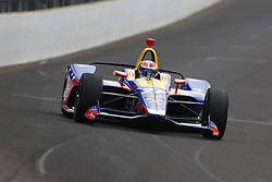 May 18, 2018 - Indianapolis, Indiana, United States of America - ALEXANDER ROSSI (27) of the United States brings his car down the frontstretch during ''Fast Friday'' practice for the Indianapolis 500 at the Indianapolis Motor Speedway in Indianapolis, Indiana. (Credit Image: © Chris Owens Asp Inc/ASP via ZUMA Wire)