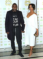 Idris Elba and Sabrina Dhowre, National Film Awards 2019, Porchester Hall, London, UK, 27 March 2019, Photo by Richard Goldschmidt