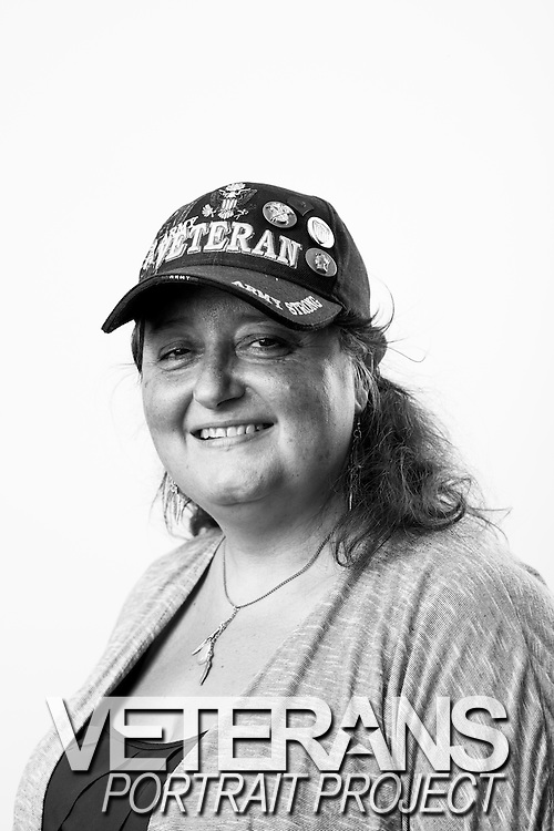 Maryann Stoller<br /> Army<br /> Spec. 4<br /> Company Clerk, Supply<br /> Jan. 1977 - Sept. 1980<br /> Cold War<br /> <br /> Veterans Portrait Project<br /> Springfield, MA