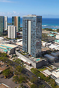 Kapiolanai Blvd, Honolulu, Oahu, Hawaii