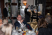 KEVIN SPACEY, Chinese New Year dinner given by Sir David Tang. China Tang. Park Lane. London. 4 February 2013.