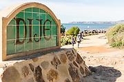 Dije Court Beach Access Monument Along San Clemente Beach Trail