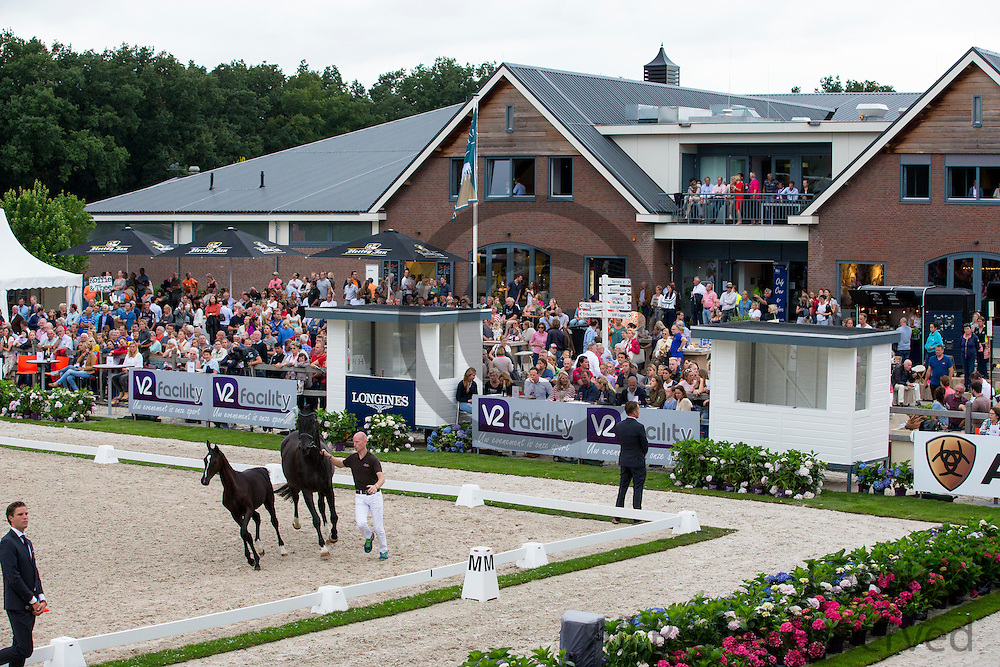 Arena<br /> Excellent Dressage Sales<br /> Longines FEI/WBFSH World Breeding Dressage Championships for Young Horses 2016<br /> &copy; DigiShots