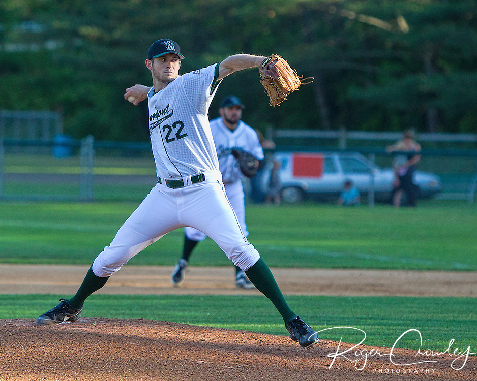 Vermont Mountaineers are defeated by the Laconia Muskrats 11-0 at Montpelier Recreation Field Saturday night.