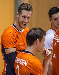 04-06-2016 NED: Nederland - Duitsland, Doetinchem<br /> Nederland speelt de tweede oefenwedstrijd in Doetinchem en verslaat Duitsland opnieuw met 3-1 / Kay van Dijk #12
