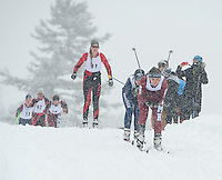 St Paul's School Lakes Region Classic Nordic Race Wednesday, February 19, 2014.  Karen Bobotas/for St Paul's School