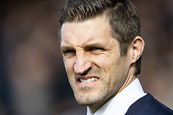March 23, 2019 - Meadow, Shropshire, United Kingdom - Sam Ricketts Manager of Shrewsbury Town during the Sky Bet League 1 match between Shrewsbury Town and Portsmouth at Greenhous Meadow, Shrewsbury on Saturday 23rd March 2019. (Credit Image: © Mi News/NurPhoto via ZUMA Press)