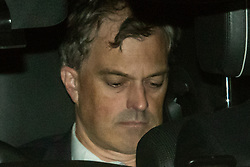 CAPTION CORRECTION © Licensed to London News Pictures. 10/09/2019. London, UK. Northern Ireland Secretary Julian Smith leaves Parliament after a late sitting in which the government lost a vote to trigger a snap election. Parliament will be now be prorogued, suspended until October 14. Photo credit: Guilhem Baker/LNP