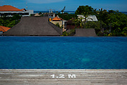 Roof top hotel pool in Sanur - Bali revisited February 2017