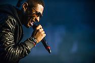Usher performing at the 2012 WGCI BigJam at Allstate Arena in Rosemont, Illinois.