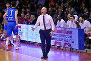 Massimiliano Menetti<br /> Grissin Bon Pallacanestro Reggio Emilia - Germani Basket Leonessa Brescia<br /> Lega Basket Serie A 2016/2017<br /> Reggio Emilia, 27/03/2017<br /> Foto M.Ceretti / Ciamillo - Castoria