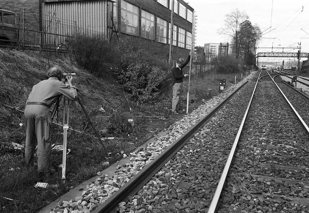 Avvägning mellan Hagalund och Ulriksdal