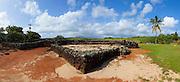Hoai Heiau; Prince Kuhio Park; Kauai; Hawaii