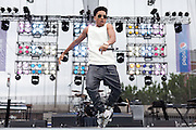 Jacob Latimore performs at the African American Festival on Saturday, June 21, 2014 in Baltimore, MD.