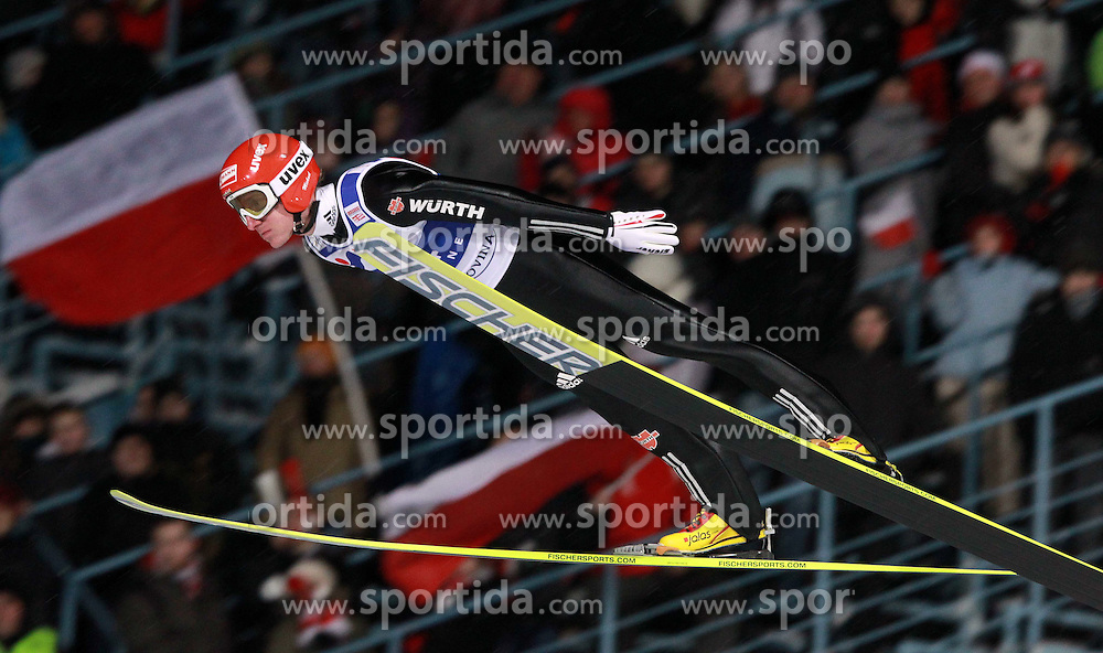 20.01.2011, Zakopane, POL, FIS World Cup Ski Jump, Men, Qualifikation, im Bild MICHAEL UHRMANN // during FIS Ski Jumping World Cup In Zakopane Poland ond 20/1/2011. EXPA Pictures © 2011, PhotoCredit: EXPA/ Newspix/ Jerzu Kleszcz +++++ ATTENTION - FOR AUSTRIA/AUT, SLOVENIA/SLO, SERBIA/SRB an CROATIA/CRO CLIENT ONLY +++++ ..