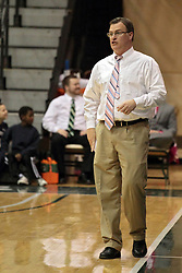 08 February 2014:  Ron Rose during an NCAA mens division 3 CCIW basketball game between the Elmhurst Bluejays and the Illinois Wesleyan Titans in Shirk Center, Bloomington IL