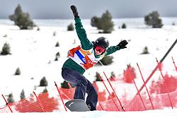 BUNSCHOTEN Lisa, SB-LL2, NED, Banked Slalom at the WPSB_2019 Para Snowboard World Cup, La Molina, Spain