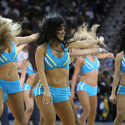 05 March 2009: New Orleans Hornets Honeybees perform during a 104-88 win by the New Orleans Hornets over the Dallas Mavericks at the New Orleans Arena in New Orleans, Louisiana.