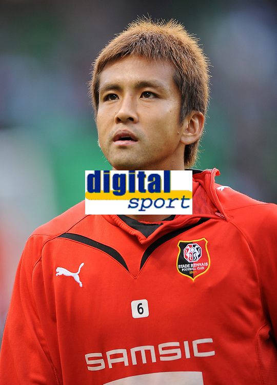 Fotball<br /> Frankrike<br /> Foto: DPPI/Digitalsport<br /> NORWAY ONLY<br /> <br /> FOOTBALL - FRENCH CHAMPIONSHIP 2009/2010 - L1 - STADE RENNAIS FC v US BOULOGNE  - 8/08/2009<br /> <br /> RENNES<br /> <br /> JUNICHI INAMOTO (REN)