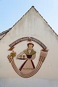 Wandbild an Hauswand, Lindenfels, Odenwald, Hessen, Deutschland | Mural on house wall, Lindenfels, Odenwald, Hesse, Germany