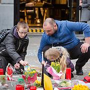 Brussels terrorists attacks commemoration in Namur (20160325)