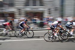Lucinda Brand (NED) of Team Sunweb whizzes past the elegant shops of Regent Street during Stage 5 of the OVO Energy Women's Tour - a 62 km road race, starting and finishing in London on June 11, 2017, in London, United Kingdom. (Photo by Balint Hamvas/Velofocus.com)